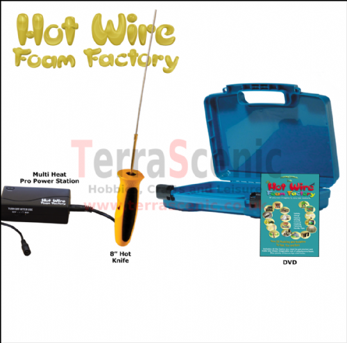 Polystyrene Cutter 8 INCH HOT KNIFE PRO KIT Hot Wire Foam Factory